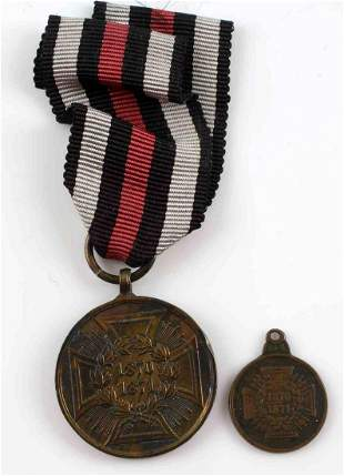 1870 TO 1871 PRUSSIAN COMMEMORATIVE CAMPAIGN MEDAL