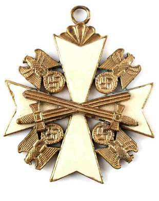 GERMAN WWII THIRD REICH ORDER OF EAGLE PENDANT