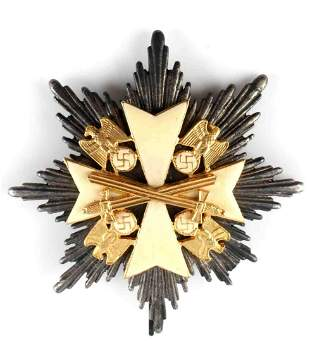 GERMAN WWII THIRD REICH ORDER OF EAGLE BADGE