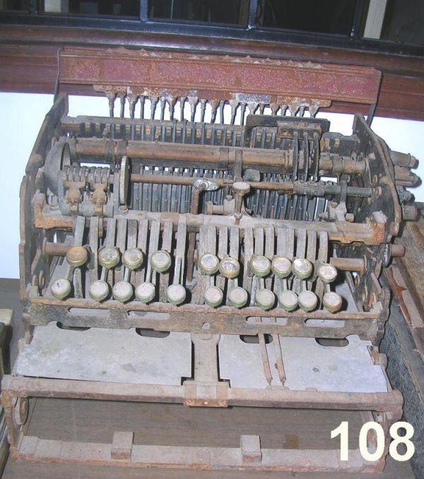70108: ANTIQUE NATIONAL CASH REGISTER PARTS 5 MACHINES