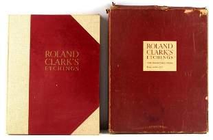 1938 ROLAND CLARK DERRYDALE PRESS BOOK ENGRAVINGS