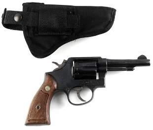 SMITH & WESSON MODEL 10 DA 6 SHOT REVOLVER .38 S&W