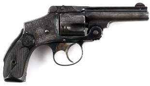 SMITH & WESSON NEW DEPARTURE .38 SAFETY REVOLVER
