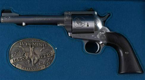 FREEDOM ARMS 1 OF 100 454 CASULL WYOMING REVOLVER