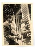 WWII GERMAN SIGNED POSTCARD PHOTO BY RUDOLF HESS