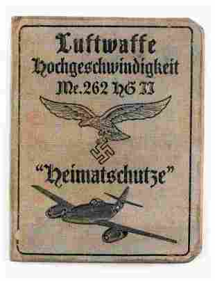 WWII GERMAN LUFTWAFFE SQUADRON IDENTIFICATION BOOK