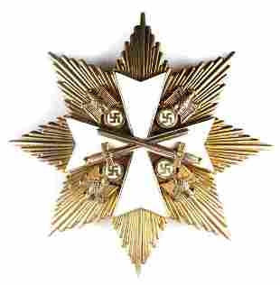 WWII GERMAN 2ND CLASS ORDER OF THE GERMAN EAGLE