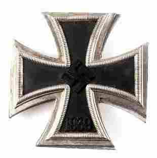 WWII GERMAN 1939 1ST CLASS IRON CROSS DECORATION