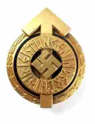 WWII THIRD REICH HITLER YOUTH GOLDEN LEADER BADGE