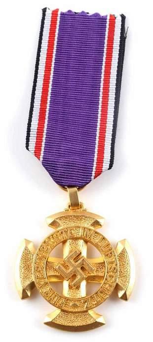 WWII GERMAN 1ST CLASS LUFTSCHUTZ RLB MEDAL