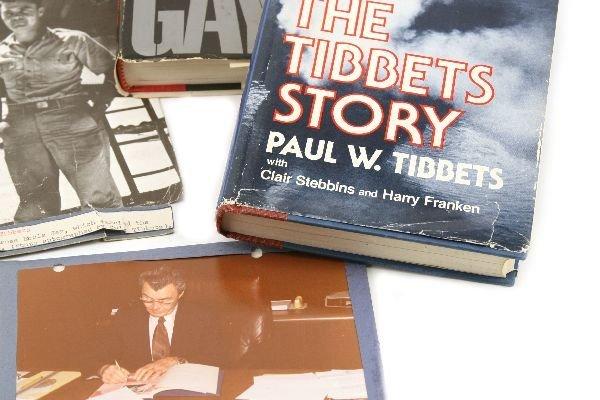 WW2 ENOLA GAY PAUL TIBBETS AUTOGRAPH GROUPING - 4