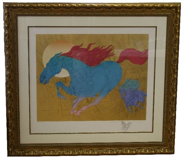 """GUILLAUME AZOULAY'S """"EQUUS"""" REMARQUE EDITION"""