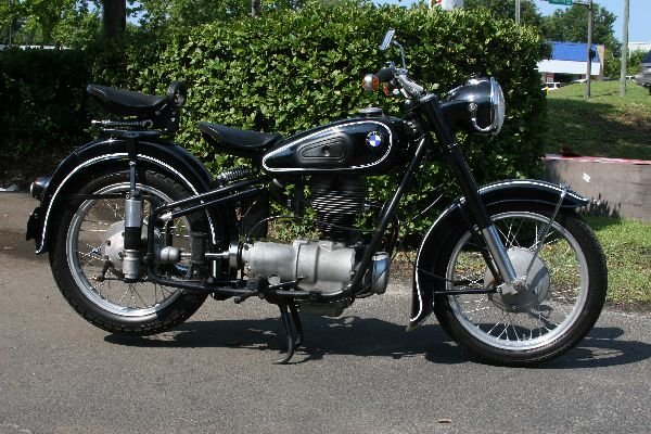 1954 BMW R25/3 MOTORCYCLE PROFESSIONALLY RESTORED - 2