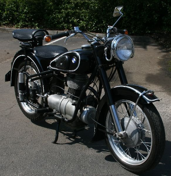 1954 BMW R25/3 MOTORCYCLE PROFESSIONALLY RESTORED - 3