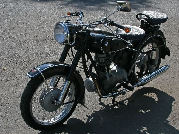 1954 BMW R25/3 MOTORCYCLE PROFESSIONALLY RESTORED - 5