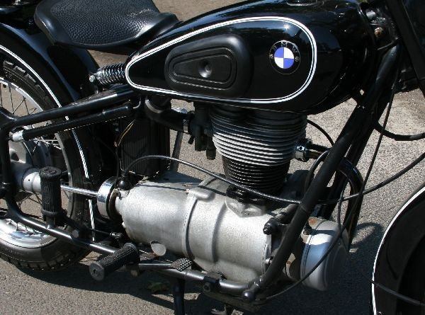 1954 BMW R25/3 MOTORCYCLE PROFESSIONALLY RESTORED - 8