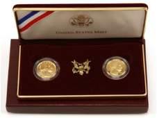 1999 GEORGE WASHINGTON BICENTENNIAL GOLD SET