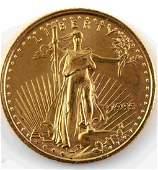 2020 GOLD 1/10 OZ AMERICAN EAGLE BU COIN