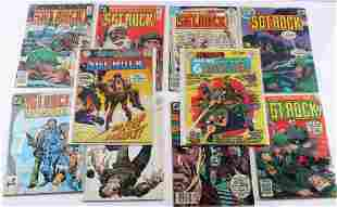 10 OUR ARMY AT WAR SERGEANT ROCK DC COMICS LOT