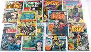 LOT OF 10 OUR FIGHTING FORCES DC COMIC BOOKS