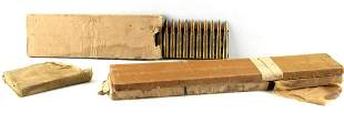 90 WWII 7.7x58 JAPANESE TYPE 92 AMMO WITH 3 CLIPS