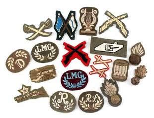 19 INF. ART. WWI WWII CLOTH BRITISH INSIGNIA PATCH