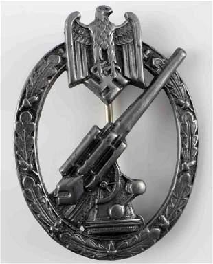 WWII THIRD REICH GERMAN FLAK ARTILLERY BADGE