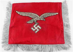 WWII GERMAN LUFTWAFFE FLAK REGIMENT COMPANY FLAG