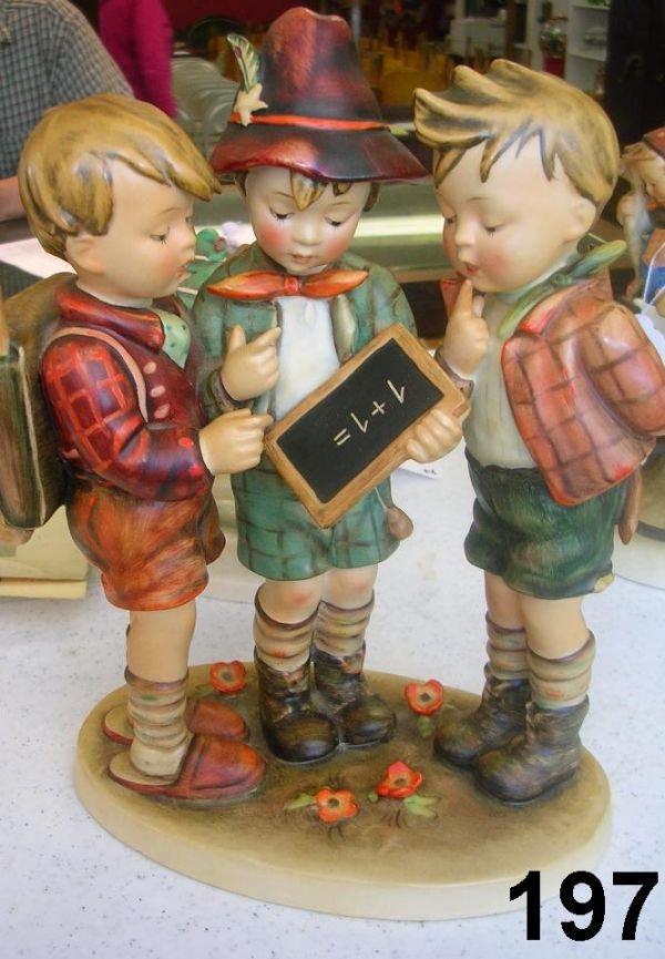 80197: 80197: VINTAGE GOEBEL HUMMEL SCHOOL BOYS 170 FIG
