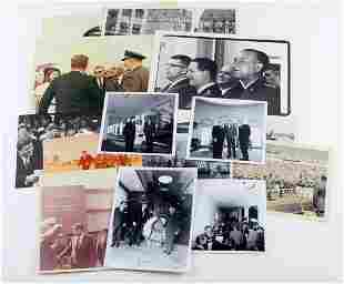 LOT OF 20 ASSORTED PHOTOGRAPHS OF JOHN F. KENNEDY