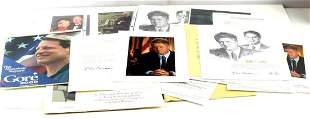 LOT OF BILL CLINTON PRESIDENTIAL MEMORABILLIA