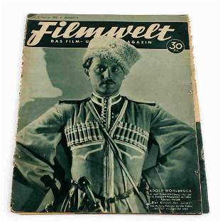 GERMAN RUSSIAN TSAR COURIER PROMOTION MAGAZINE