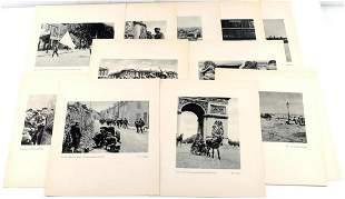15 WWII THIRD REICH PROPAGANDA PRINTS HITLER PARIS