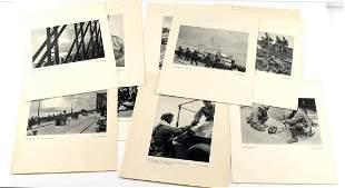 17 WWII THIRD REICH PROPAGANDA PRINTS BATTLE SCENE