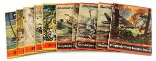 LOT OF 10 WWII GERMAN YOUTH PROPAGANDA BOOKS