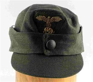 WWII GERMAN THIRD REICH SS WAFFEN M-44 HAT