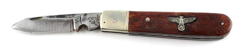 WWII GERMAN 3RD REICH NSDAP OFFICIALS POCKET KNIFE