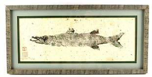 JAPANESE GYOTAKU FISH ART BY MICHAEL PHILLIPS
