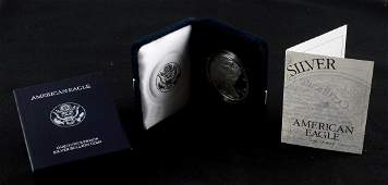 1996 P AMERICAN EAGLE 1 OZ SILVER PROOF COIN