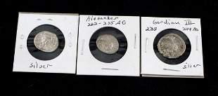 ANCIENT ROMAN EMPIRE SILVER COIN LOT