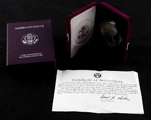 1993 P AMERICAN EAGLE 1 OZ SILVER PROOF COIN