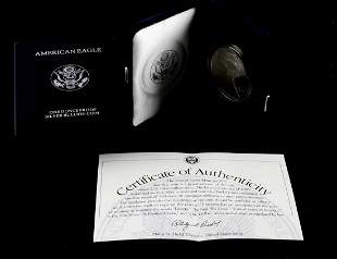1994 P AMERICAN EAGLE 1 OZ SILVER PROOF COIN