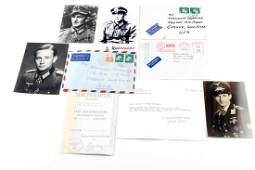 WWII GERMAN RECIPIENTS OF IRON CROSS SIGNED PHOTOS
