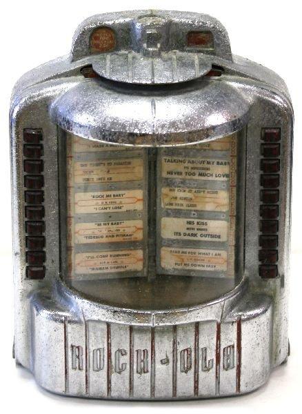1960's WALL MOUNTED JUKE BOX - ROCK-OLA 1542