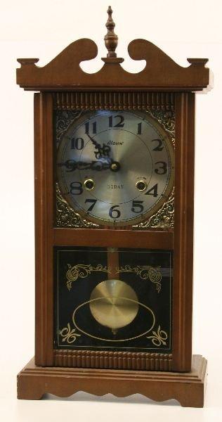 31 day wall clock w pendulum alaron 31 day wall clock w pendulum amipublicfo Image collections
