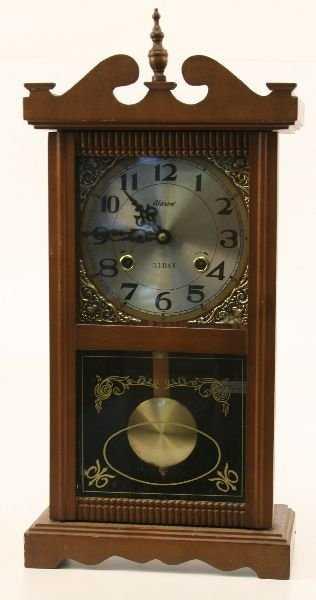 Alaron 31 Day Wall Clock W Pendulum
