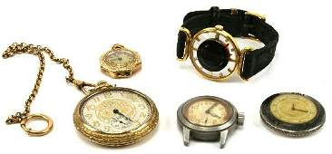WALTHAM POCKET WATCH PLUS OTHER WATCHES
