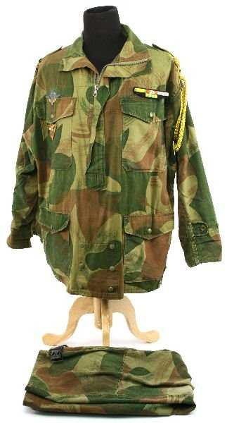 French Foreign Legion Paratroopers Combat Uniform