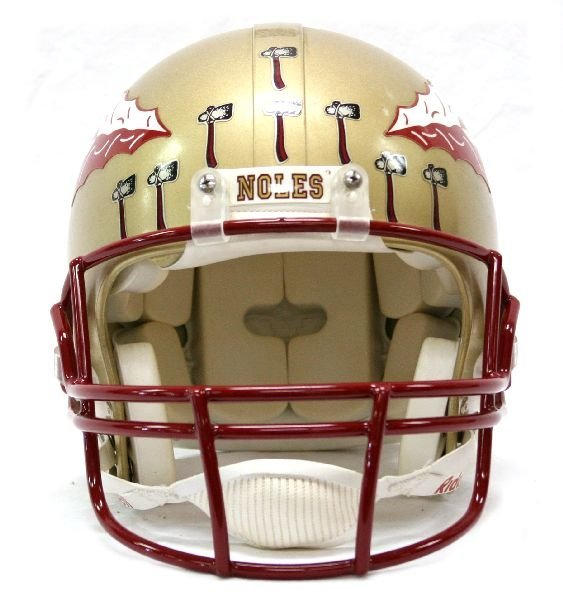 FLORIDA STATE SEMINOLES AUTHENTIC PLAYERS HELMET