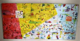 MODERN CONTEMPORARY ABSTRACT PAINTING